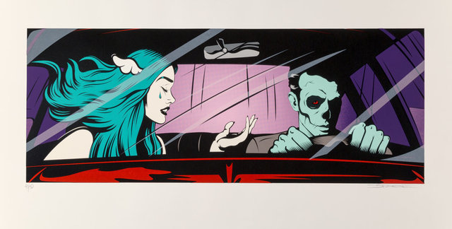 D*Face, 'Drive By Shouting', 2017, Print, Screenprint in colors on Arches paper, Heritage Auctions