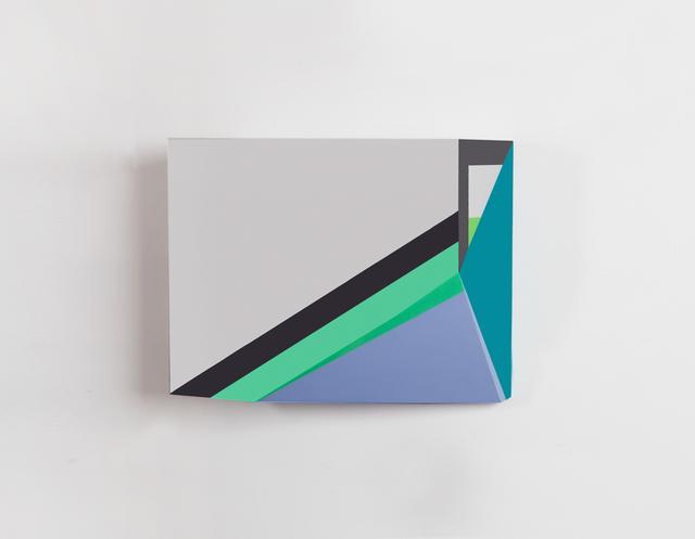 , 'Origami 1, #27,' 2014, River
