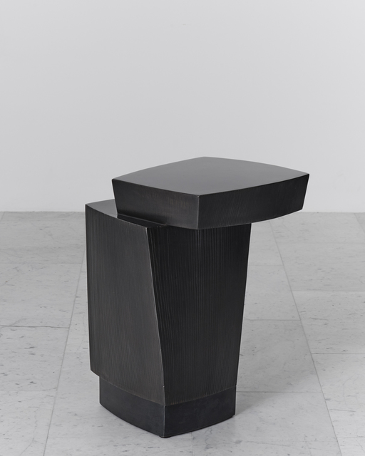 , 'Ledges 3 Blackened Steel Side Table, USA,' 2016, Todd Merrill Studio