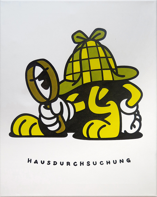 , 'Hausdurchsuchung,' 2018, KOLLY GALLERY