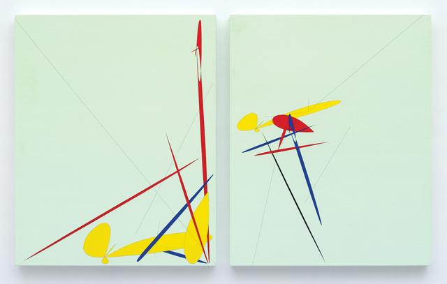 , 'Debris_Division #2-1-2,' 2012, Lee Eugean Gallery