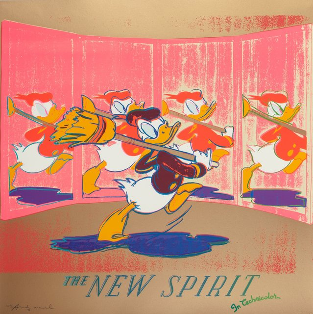 Andy Warhol, 'The New Spirit (Donald Duck), from the Ads portfolio', 1985, Heritage Auctions