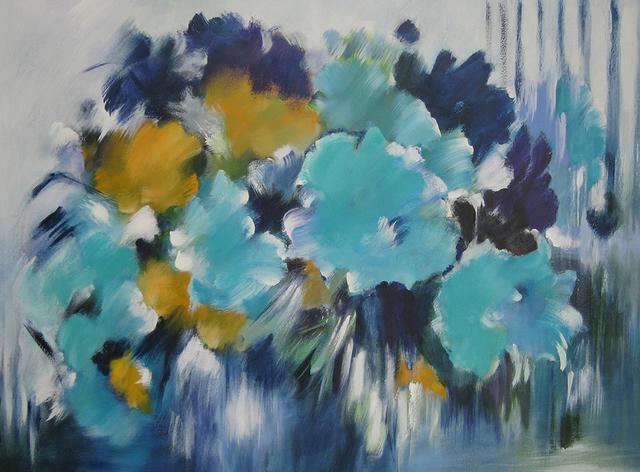 , 'Secret bleu,' 2015, Galerie NuEdge