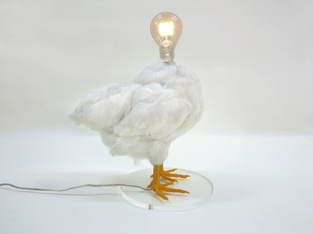 , 'Chicken Lamp,' 2014, Cristina Grajales Gallery