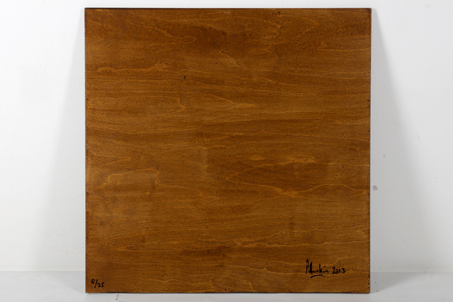 Pete Hawkins, 'In Hindsight', 2013, Print, Transfer print on wooden panel, Chiswick Auctions
