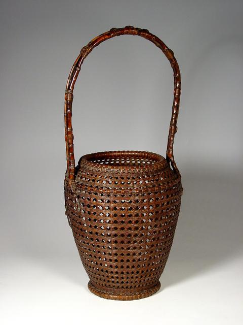 , 'Bamboo Ikebana Basket (T-0597),' Showa era (1926-89) ca. 1930, Erik Thomsen