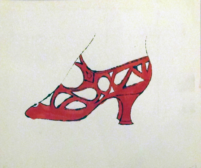 , 'Red Shoe, IV.73B, CA.,' 1955, Ravizza Brownfield Gallery