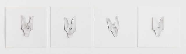 , 'A00 - A03,' 2018, Underdogs Gallery
