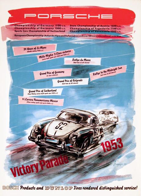 , 'Porsche - Victory Parade 1953,' 1954, Omnibus Gallery