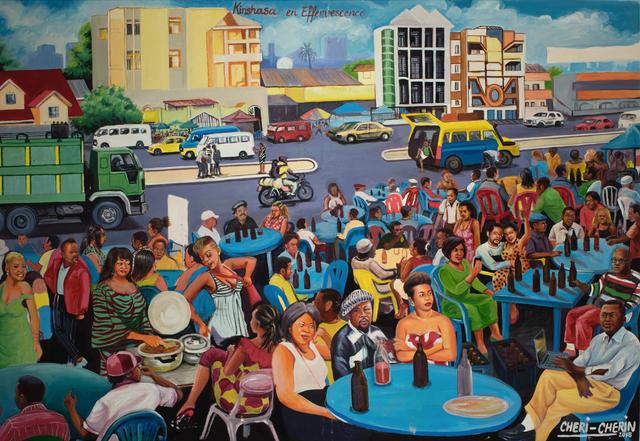 , 'Effervescence in Kinshasa ,' 2018, AfricArt Gallery Hong Kong