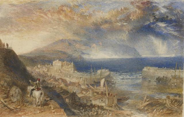 , 'Wolf's Hope, Eyemouth,' ca. 1835, Clark Art Institute