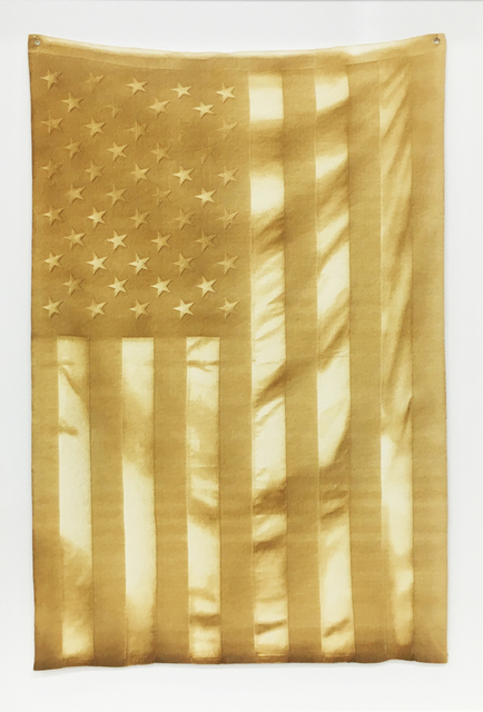 , 'Untitled (Burned Flag),' 2016, VICTORI+MO CONTEMPORARY