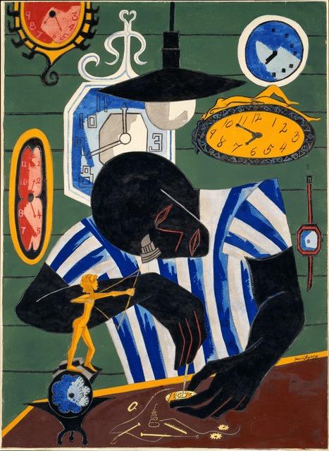 Jacob Lawrence, 'Watchmaker', 1946, ICA Boston
