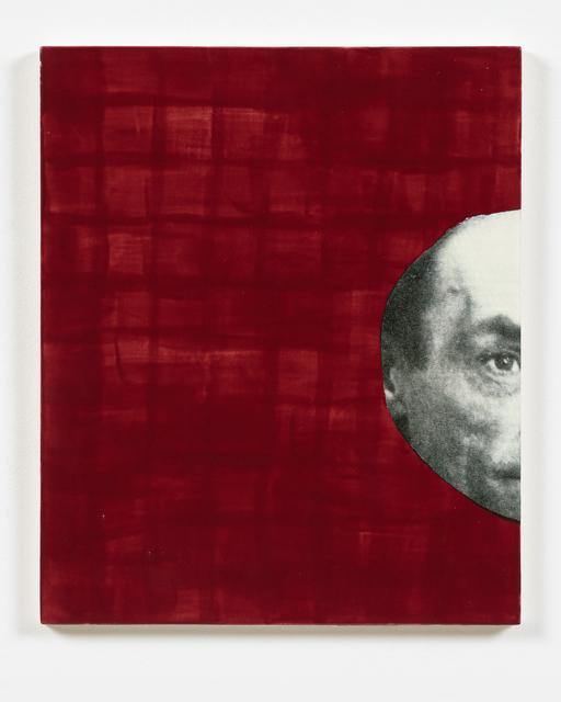 , 'A.A. (Artaud),' 2016, Espacio Mínimo