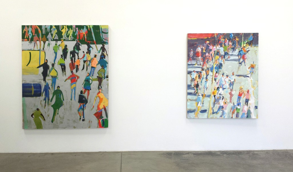 "David Kapp, ""New Work"" installation