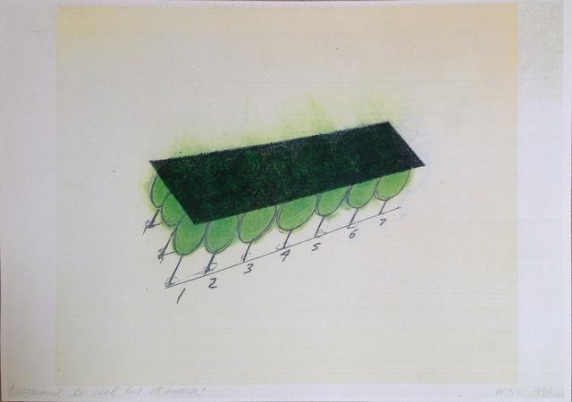 David Lamelas, 'Quand le ciel et lourd', 1990, Herlitzka + Faria