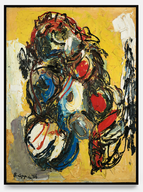 Karel Appel, 'Nu laineux', 1956, Painting, Oil on canvas, Opera Gallery