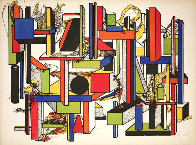 , 'Geometric Color Study 2,' 1967, David Richard Gallery