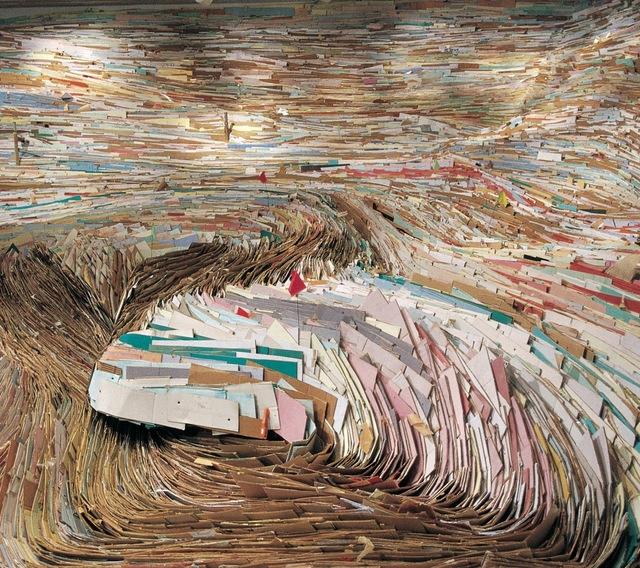 , 'True, False, and Slightly Better,' 2003, Rice University Art Gallery