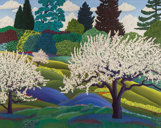 , 'Apple Trees,' 2009, ACA Galleries
