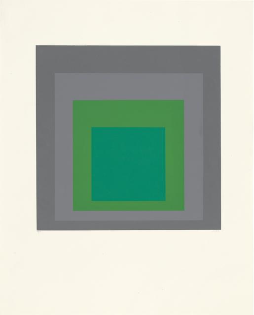 , 'Hommage au Carré,' 1965, Ludorff