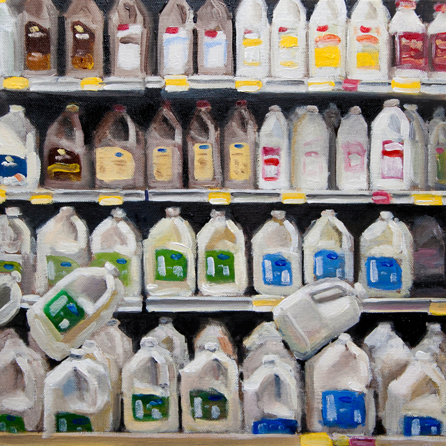 , 'Milk Aisle,' 2015, Ro2 Art