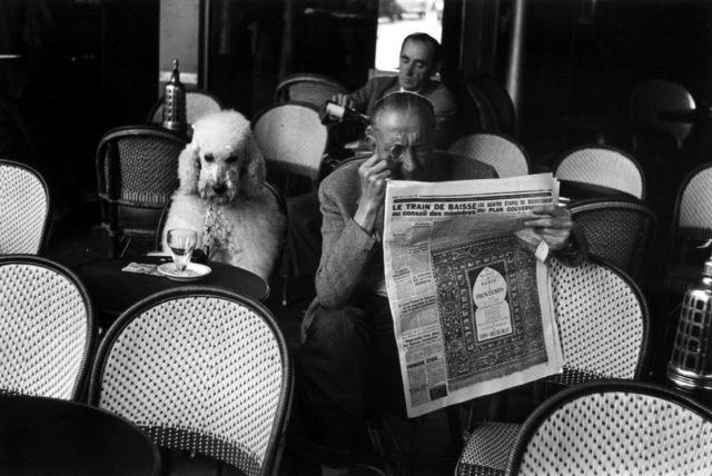 , 'Paris, café les deux magots,' 1953, °CLAIR Galerie