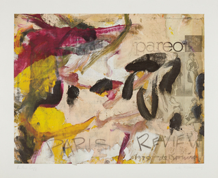 Willem de Kooning, 'Paris Review,' 1979, Phillips: Evening and Day Editions (October 2016)