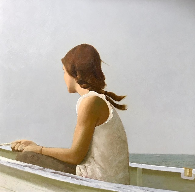 , 'Girl on the Boat,' 2018, Somerville Manning Gallery