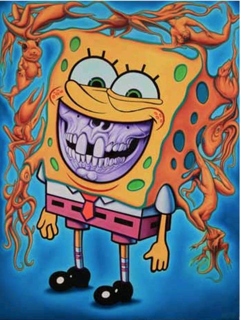 , 'Spongebob Grin,' 2014, Eternity Gallery