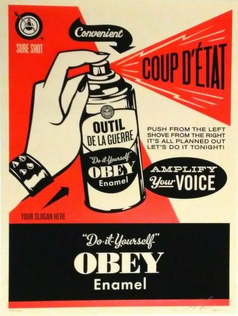 Shepard Fairey, 'Obey coup d'état', 2012, DIGARD AUCTION