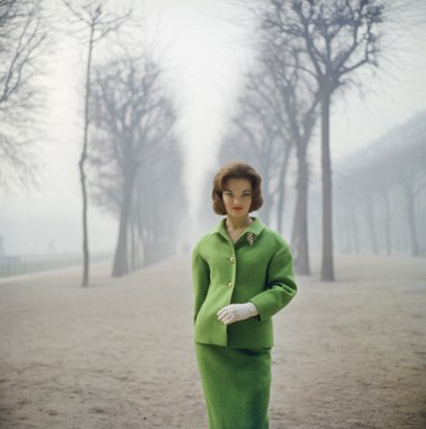 Mark Shaw, 'Henrietta Tiarks Among the Trees, Paris', 1959, Jackson Fine Art