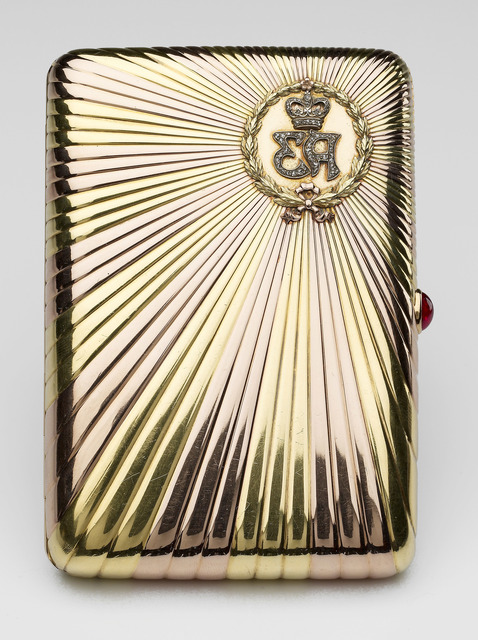 , 'Cigarette case,' 1903, Royal Collection Trust