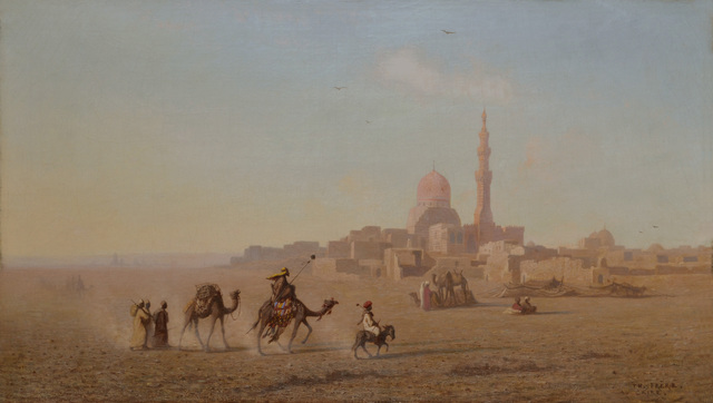 , 'Outskirts of Cairo,' ca. 1880, Darnley Fine Art
