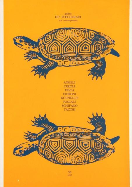 Various Artists, '8 pittori romani', 1967, Finarte