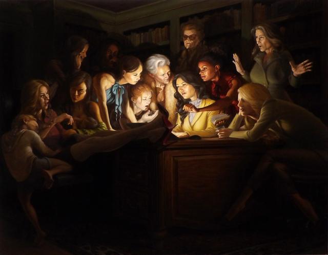 Michael Tole, 'The Revelation ', 2021, Painting, Oil on canvas, ShockBoxx