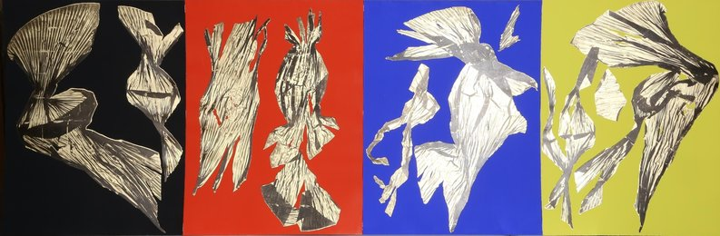 Dual Nature (Quad) (four works)