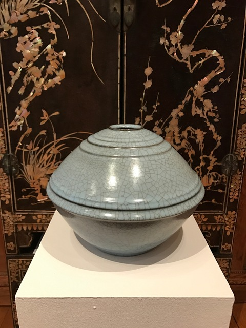 , 'Seiji Celadon Jar with Carved Patterns,' 2016, Onishi Gallery