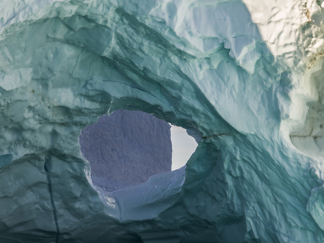 , 'Ultraviolet Shapes, Disko Bay, Greenland,' 2016, Marlborough Gallery