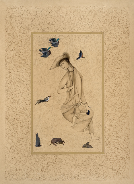 , 'Safavid boy,' 2016, Janet Rady Fine Art