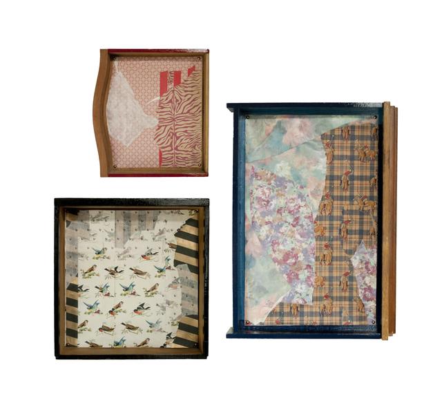 , 'Collage para cajones,' 2014, Nora Fisch