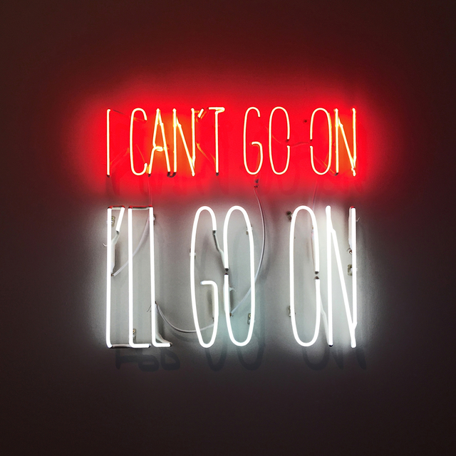 , 'I can´t Go On. I´ll Go On,' 2016, Galerie Thomas Schulte