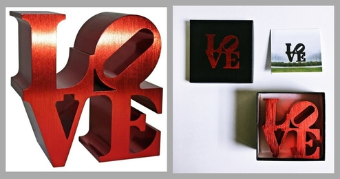 LOVE (Artist Authorized for the Indianapolis Museum of Art)