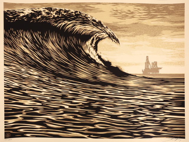 Shepard Fairey (OBEY), 'This New Wave Is A Little Slick For My Taste', 2014, Chiswick Auctions