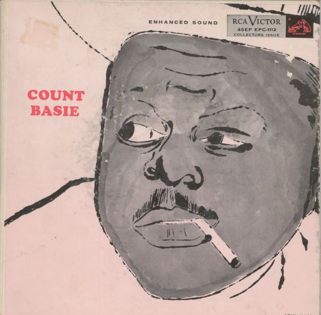 "Andy Warhol, 'Count Basie', 1955, Print, Offset print on vinyl sleeve with mention ""Cover painting by Andy Warhol"" and vinyl record, NextStreet Gallery"