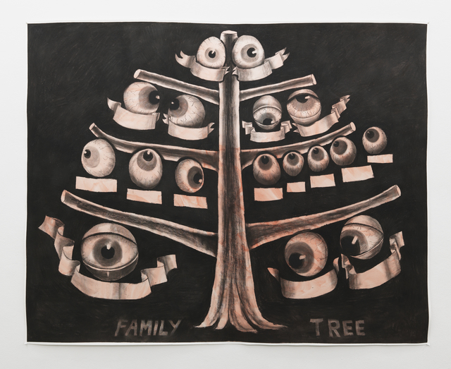 , 'Family Tree,' 2013, Clages