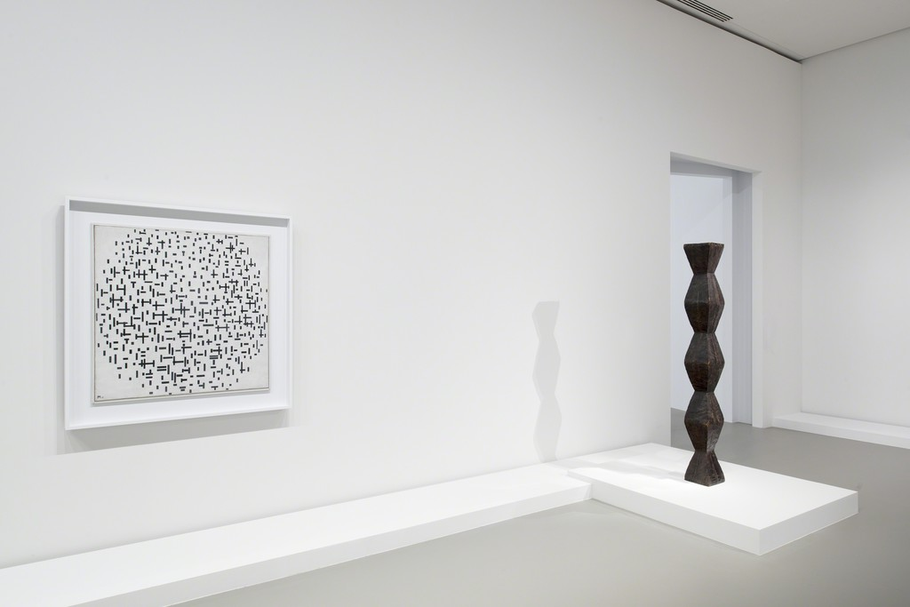 View of Brancusi and Mondrian at Fondation Louis Vuitton, Paris 2015