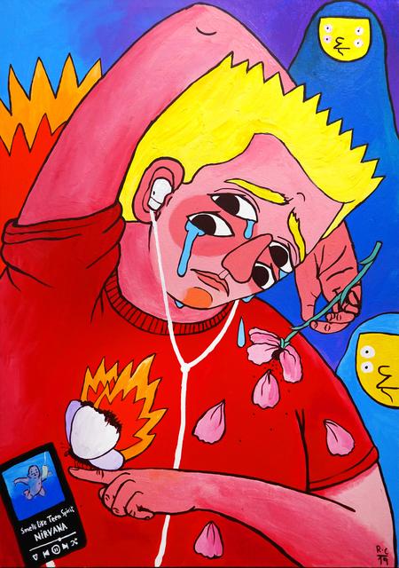 , 'Bart,' 2019, StolenSpace Gallery