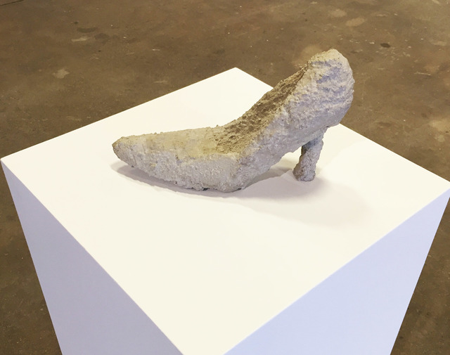 , 'Untitled (concrete shoe),' 2013, Carrie Secrist Gallery