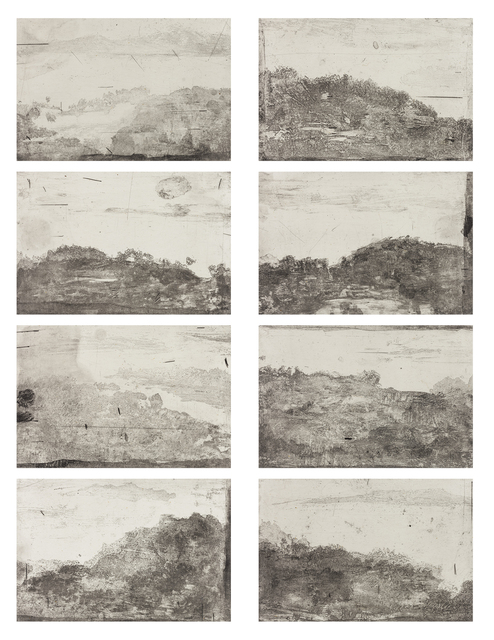 , 'West Lake-South Mountain,' 2013, Chambers Fine Art